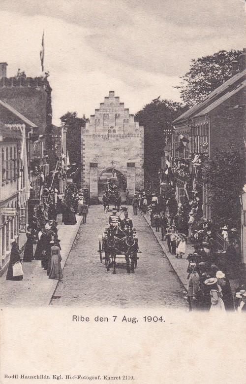 Donkirkens genindvielse augsut 1904